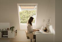 Hjemmekontor / Lys og frisk luft gir deg det beste miljøet for en god arbeidsplass.