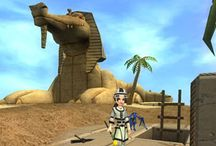Travel / Tour the virtual worlds of the Spiral in Wizard101.