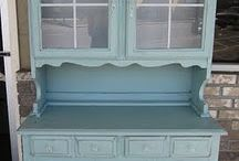 COLOUR: Duck Egg Blueautiful / Currently running high on the list of favourite Annie Sloan Chalk Paint colours