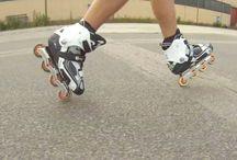 inline skating / Inline Skating Patins Pattini Roller