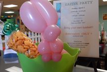 Easter Party / Hippity Hop's Annual Easter Party Egg hunt, ballon art, Picture with Easter Bunny, bubble time and much more!!