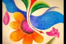 Simple paintings