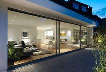 extension glass doors