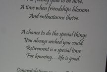 Words to my Card