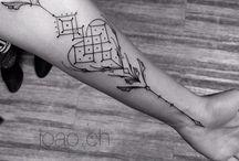 Tattoos ---- inspirações ---- rabiscos