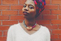 African Headscarves