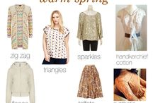 Warm Glorious Spring Fabrication / print and pattern