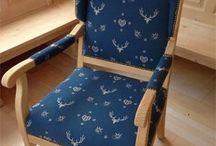 Židle potah