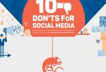 10 Don'ts for Social Media