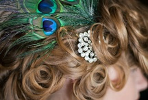 Art Deco/Peacock Wedding Inspirations