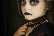 Halloween child makeup