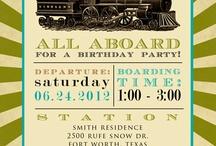 Brady's Train Birthday / by Meghan Azam