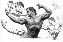 PETER VALE / Ilustrações do desenhista Peter Vale  Illustrations of Penciler Peter Vale