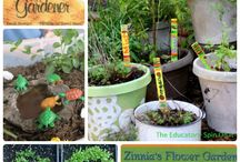 Gardening Fun with Kids / Activities to teach kids about gardening