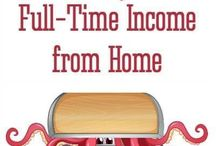 Be Your Own Boss / Tips and ideas on how to work from home, make side income, be an entrepreneur and create passive income