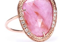 Pink Jewelry and Watches