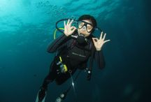Diving / love, happiness, passion