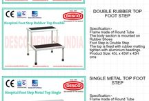 Hospital Footstool Manufacturer / DESCO India is a leading manufacturer of Medical hospital mattresses. Our on time delivery and customer satisfaction program helps our customers to get best medical furniture at best possible prices and on time. So, if you are seeking for hospital mattresses or medical furniture, DESCO India is the right option for you.