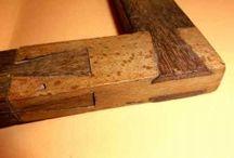 Travail du bois / Technique traditionnel et contemporain des métier du bois. Ebénisterie - menuiserie - charpente