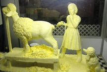 Imaginative Butter & Cheese Art / by TraceyJean
