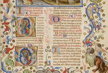 Manuskrypty, iluminacje