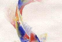 Watercolour Fish Tattoo Ideas