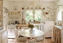 Cozinhas de casas de fazenda