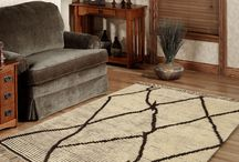Moroccan Ivory Brown Rug