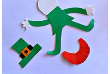 St. Patrick's Day Preschool Books, Activities, and Printables / Happy St. Patrick's Day! Let's have some fun with all of the ideas, tips, tricks, and St. Patrick's Day decorations that I've compiled. Looking for more family fun ideas, follow me here and at HomeschoolPreschool.net .