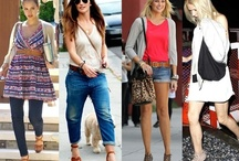 Celebrity Fashion / Fabulous celebrity styles, red carpet and off-duty street outfits of your favorite celebs.  Included are tips on how to get them.