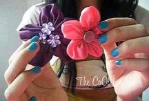 Λουλούδια από ύφασμα