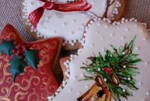 Karácsonyi sütikék, christmas cookies