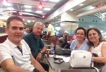 Gezi notları / Küba turu öncesi Atatürk havalimanındayız.30 ağustos 2017,yarın kurban bayramı Arife'si,Cem ve Can Antalya'da