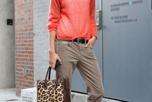 Natural/casual / She is best in sports wear, casual to elegant. She strives for comfort in her clothing.