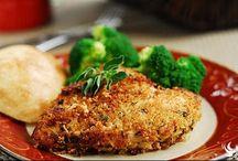 Crispy Herb Crusted Chicken Recipe