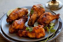 Wings and Finger Foods / Snacks for socializing  / by Alex Bray