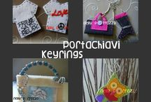 100% Handmade Jewellery Bijoux Keyrings / Personalised unique pieces handmade with love