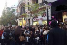 ΠΡΙΝ ΛΙΓΟ- Πρωτοφανείς εικόνες στη Θεσσαλονίκη, με ουρές έως την Τσιμισκή, σε κατάστημα της Αγ. Σοφίας !!!