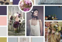 Lilac & turqoise