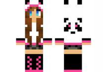 Mc skin panda <3