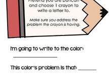 Day the crayons quit activities