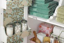 Organize badkamer
