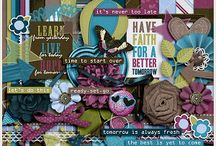 {Begin Again} Digital Scrapbook Collection by Aprilisa Designs