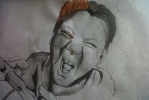 Paul walker / drawings, illustration, fine art