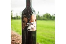 Personalised Photo Wines / Upload your own photo to these wine label templates!