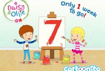 Daisy & Ollie Countdown / Countdown to Daisy & Ollie a #new Children's TV show launching on Cartoonito!