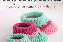 Crochet -Baby And Kids Shoes - Free - 7 !
