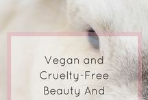 Vegan and Cruelty-Free Beauty & Skincare