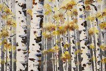 Birch Trees / CLASSROOM VISUALS