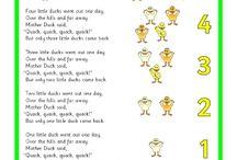 songs & nursery rhymes
